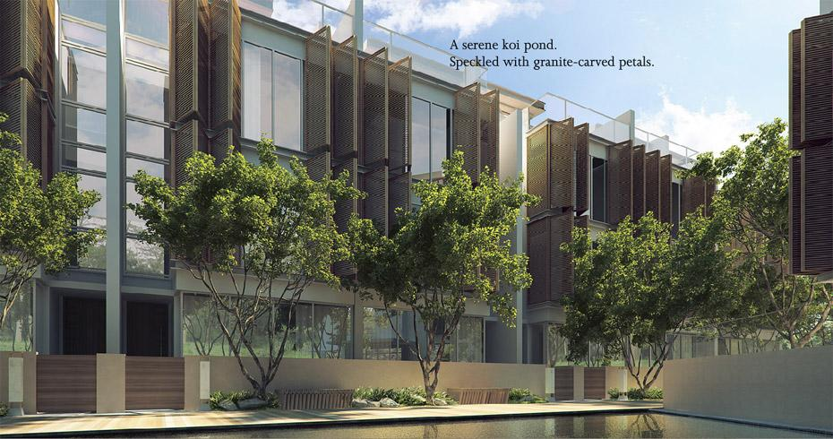 The Woods facing Westwood Residences EC