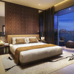 Westwood Residences Showflat . Master Bedroom