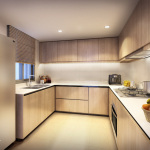 Westwood EC Showflat . Kitchen