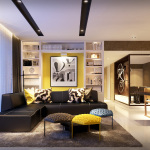 Westwood Residences Showflat . Living & Dining