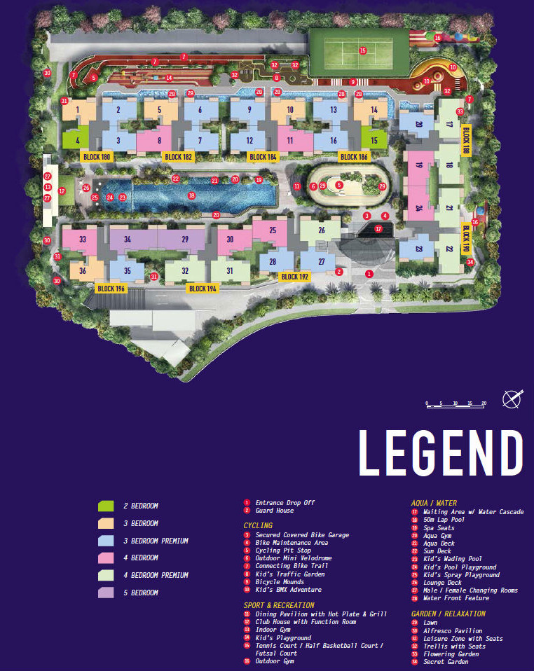 Westwood EC Floor Plans | Westwood Residences Floor Plan | Site Plan Layout