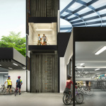 Westwood EC Singapore . Secured Covered Bike Garage