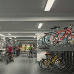 Westwood Residences Singapore . Secured Covered Bike Garage